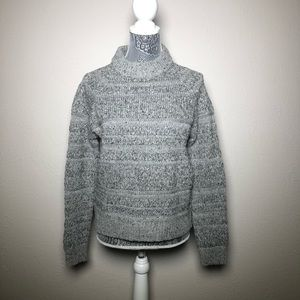 NWT Anthropologie SeenWornKept Gray/Silver Sweater